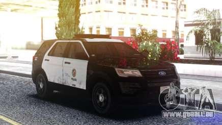 Ford Explorer Police Mod pour GTA San Andreas