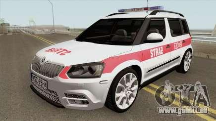 Skoda Yeti - KPP PSP Sochaczew für GTA San Andreas