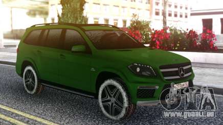 Mercedes-Benz GL 63 AMG Green pour GTA San Andreas