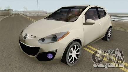 Mazda 2 2013 (SA Style) pour GTA San Andreas