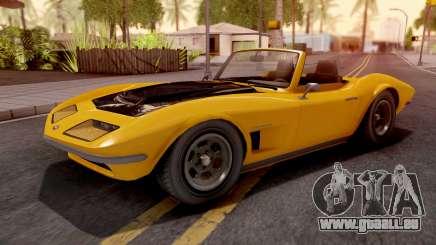 GTA V Invetero Coquette Classic TL pour GTA San Andreas