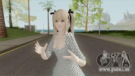 Marie Rose White Dress (DoA 5) pour GTA San Andreas