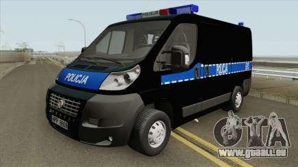 Fiat Ducato Polskiej Policji pour GTA San Andreas