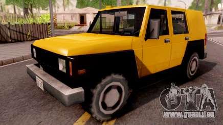 SUV Bulldog pour GTA San Andreas