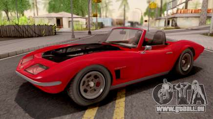 GTA V Invetero Coquette Classic TL Stock pour GTA San Andreas