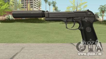 Firearms Source Beretta M9 Suppressed pour GTA San Andreas