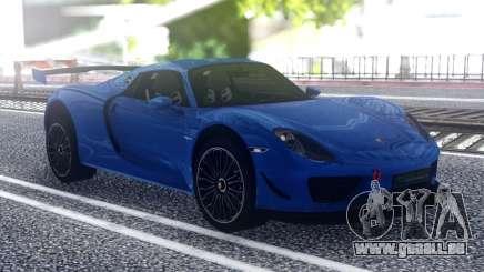 Porsche 918 Spyder Sport pour GTA San Andreas