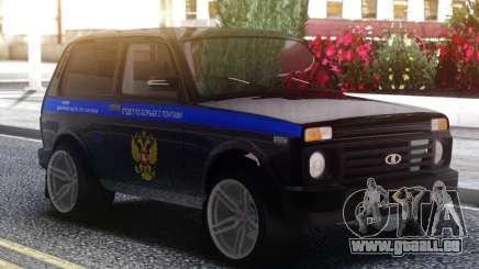 Lada 4x4 Abschnitt gegen Ponte für GTA San Andreas