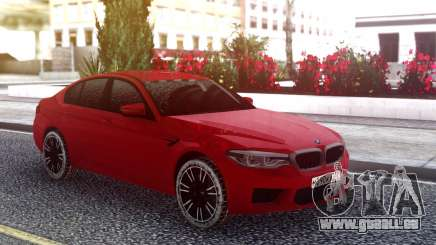 BMW M5 F90 Red Snow pour GTA San Andreas