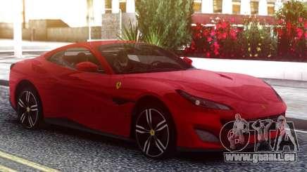 Ferrari Portofino 2018 Red für GTA San Andreas