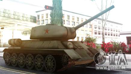 T-34 Tank für GTA San Andreas