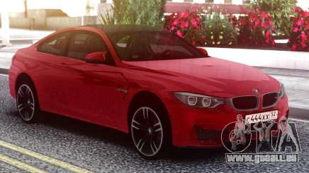 BMW M4 Coupe Red für GTA San Andreas