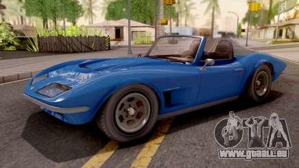 GTA V Invetero Coquette Classic TL Stock IVF pour GTA San Andreas