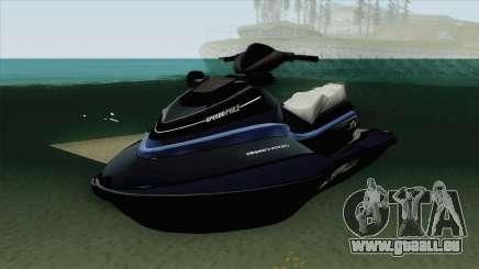 Speedophile Seashark Yatch GTA V für GTA San Andreas