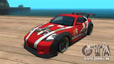 Nissan 350z Girls frontline Dragunov pour GTA San Andreas