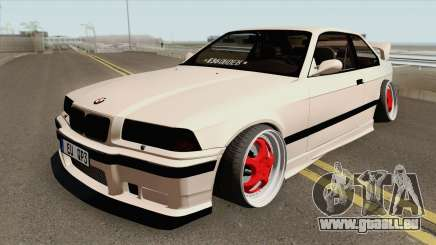 BMW E36 1998 Stance by Hazzard Garage für GTA San Andreas