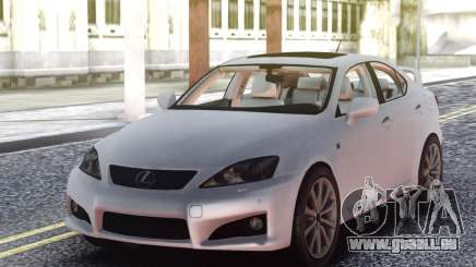 Lexus IS-F 2009 Civil pour GTA San Andreas