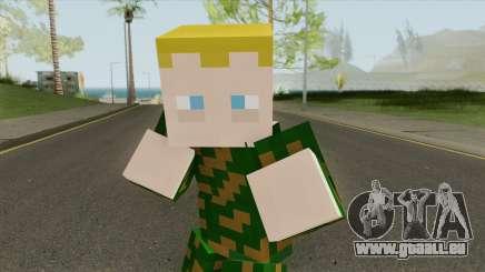Army Minecraft Skin pour GTA San Andreas