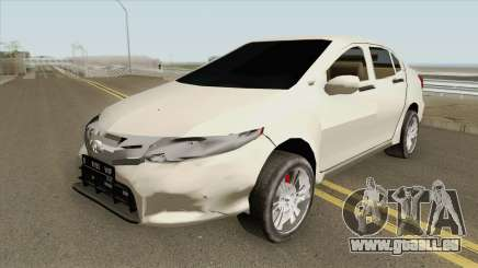 Honda City 2013 Low Poly für GTA San Andreas