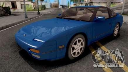 Nissan 240SX Blue für GTA San Andreas