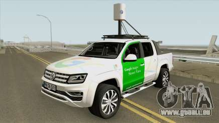 Volkswagen Amarok V6 2018 (Google Street View) pour GTA San Andreas