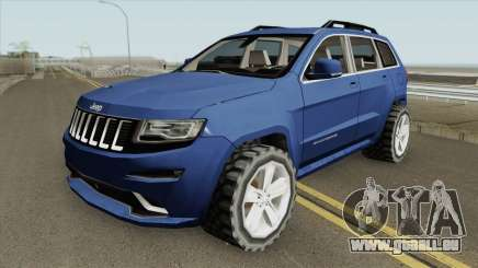 Jeep Grand Cherokee SRT 2014 (SA Style) für GTA San Andreas