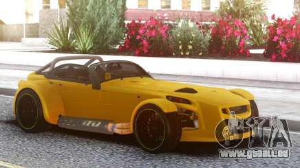 Donkervoort D8 GTO Yellow für GTA San Andreas