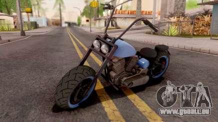 Zombie Metal Negro für GTA San Andreas