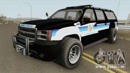 Chevrolet Suburban (LAX Airport Police) pour GTA San Andreas