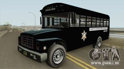 Prision Bus GTA V (Los Angeles County) pour GTA San Andreas