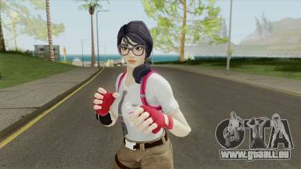 Fortnite Female Nerd (Mia Khalifa) pour GTA San Andreas