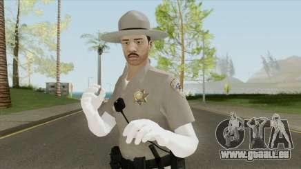 SAHP Officer Skin V5 pour GTA San Andreas