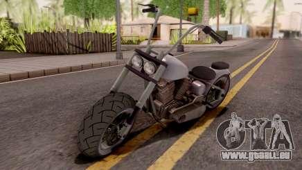 Zombie Metal Claro für GTA San Andreas