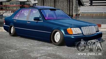 Mercedes-Benz S600 Stance für GTA 4