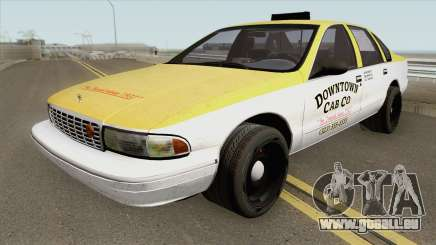 Chevrolet Caprice Taxi 1996 MQ pour GTA San Andreas