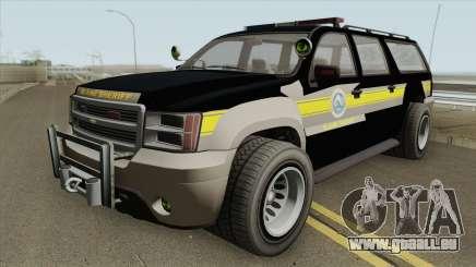 Chevrolet Suburban (Sheriff Blaine County) pour GTA San Andreas