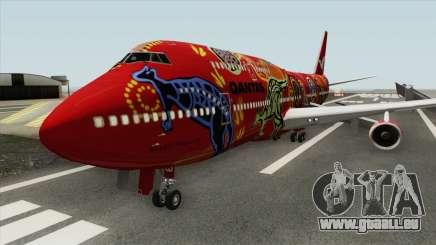Boeing 747-400 RR RB211 (Qantas Livery) pour GTA San Andreas