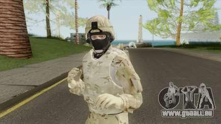 Skin Random 198 (Outfit Military) pour GTA San Andreas