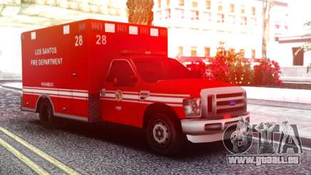 Ford F-250 Ambulance LSFD für GTA San Andreas