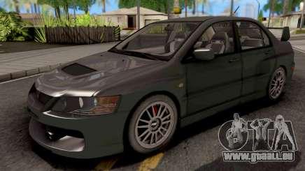 Mitsubishi Lancer EVO IX MR für GTA San Andreas