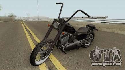 Daemon GTA IV TLaD (Metal Negro) für GTA San Andreas