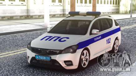 Kia Ceed Police pour GTA San Andreas