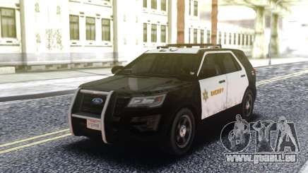 Ford Explorer Police Interceptor pour GTA San Andreas