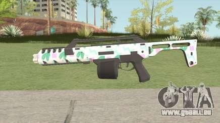 Special Carbine MK2 GTA V (Seapunk) für GTA San Andreas