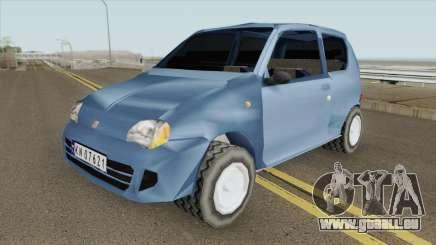 Fiat Seicento pour GTA San Andreas