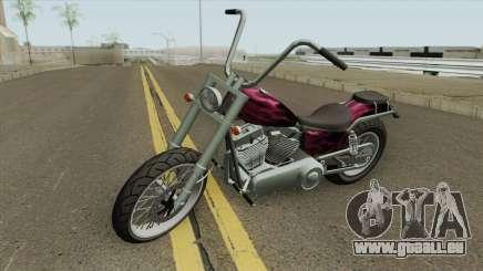 Daemon GTA IV TLaD (Metal Claro) für GTA San Andreas