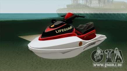 Speedophile Seashark Lifeguard GTA V für GTA San Andreas