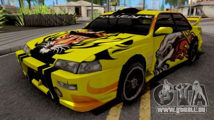 New Paint Job To Sultan für GTA San Andreas