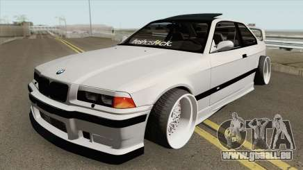 BMW E36 M3 1999 Stance by Wippys Garage pour GTA San Andreas
