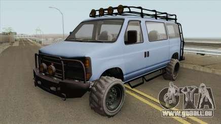 Bravado Rumpo Custom GTA V pour GTA San Andreas
